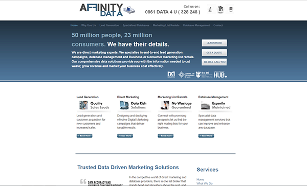 Affinity Data