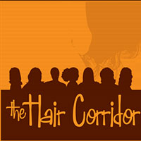 The Hair Corridor logo design