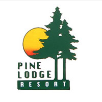 Pine Lodge Resort logo design