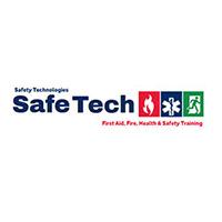 Safetech logo concept design