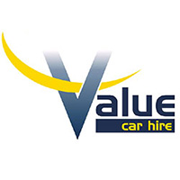 value car hire logo design