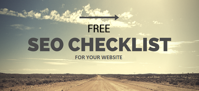 Free Website SEO Checklist