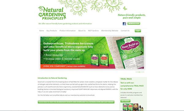 Natural Gardening Principles