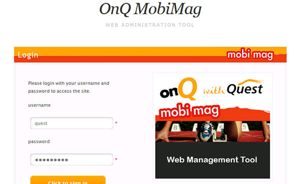Quest mobi recruitment site & Portal