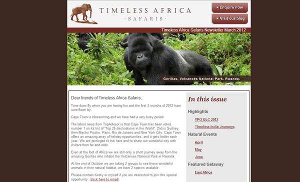 Timeless Africa Safaris