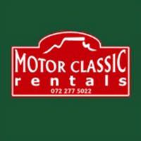 Motor Classic Rentals logo design