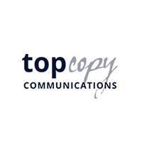 Top copy Communications Logo design