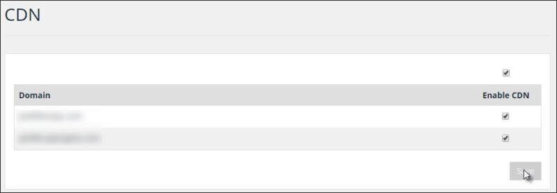 A screenshot of enabling the WP Engine CDN