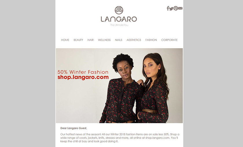 Langaro Newsletter